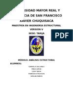 Trabajo de Investigación Diseño Dinamico de Estructuras