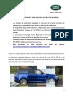 Boletín de Prensa RR SPORT SVR_puesto a Prueba