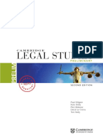 Cambridge Legal Studies Prelim 2E