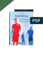 Mobbing El Acoso Moral en El Trabajo