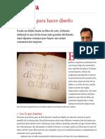 10 reglas para hacer diseño editorial   Mario Balcázar   FOROALFA