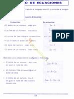 Planteo de Ecuaciones 6to