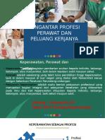 Pengantar Profesi Perawat Dan Peluang Kerjanya