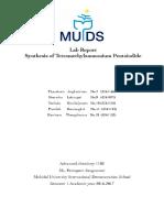 lab report syntesis