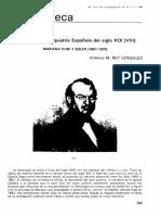 Clasicos de La Psiquiatria Española Del Siglo XIX (VIII)-Mariano Cubi y Soler 1801-1875