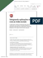 5-Integrando Aplicações Web Com as Redes Sociais - Revista Java Magazine 111