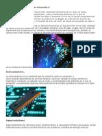 Materiales Que Se Utilizan en Informática
