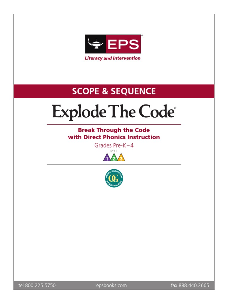 Scope & Sequence | Consonant | Phonetics