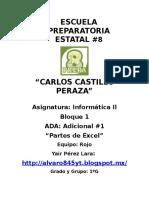 Ambiente Exel Yair Pérez