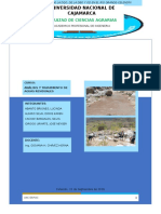 Informe de Muestreo Del Rio Grande