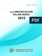 Kecamatan Bajuin Dalam Angka 2015
