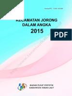 Kecamatan Jorong Dalam Angka 2015