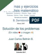 Demidovich. Problemas y Ejercicios de Análisis Matemático_Banco