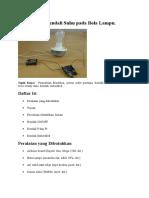 Percobaan Suhu Dan Motor Dc