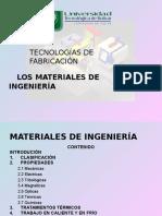 MATERIALES DE INGENIERÍA
