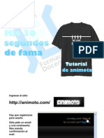 Tutorial de Animoto