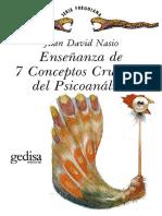 NASIO - 7 Conceptos Cruciales Del Psicoanalisis
