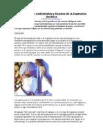 Consecuencias Ambientales y Sociales de La Ingeniería Genética