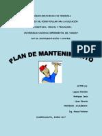 Plan de Mantenimiento (1)