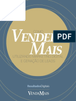 eBook Como Vender Mais Utilizando Marketing Digital e Geração de Leads