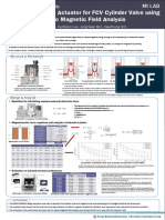 (poster)Design of Solenoid Actuator for FCV Cylinder Valve using Electro Magnetic Field Analysis.pptx