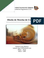Diseño de Mezclas de Concreto [Ing. Samuel Laura Huanca].pdf