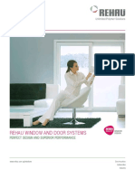 Rehau Windows and Doors System Brochure