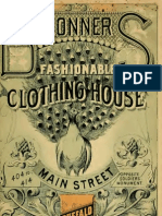 (1886) Ronner Fashionable Clothing House (Catalogue)