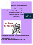 Act. Leyes de Reforma - Copia