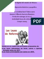 Act. Leyes de Reforma - Copia