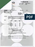 Certificado g100 - Ipsa