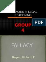 Fallacies in Legal Reasoning