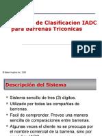 Clasificacion IADC Triconicas y PDC