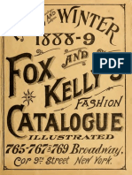 (1888) Fox and Kelly's Fashion Catalogue Illustrated