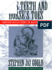 Hen's Teeth and Horse's Toes - Stephen Jay Gould