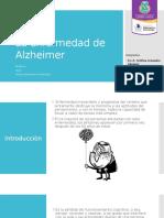La Enfermedad de Alzheimer(1)