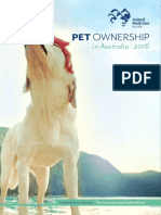 AMA Pet Ownership in Australia 2016 Report