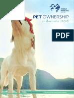 AMA Pet Ownership in Australia 2016 Report