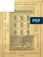 (1894) Grange Wholesale Supply Catalogue