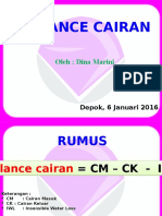 Balance Cairan