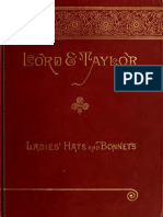 (1895) Latest Styles of Hats and Bonnets (Catalogue)