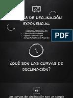 Curvas de Declinación Exponencial Eq. 1
