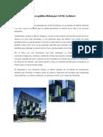Proyecto Arquitectonico Biblioteca Bishan