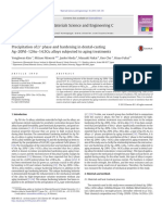 Precipitation of β′ Phase and Hardening in Dental-casting Ag–20Pd–12Au–14.5Cu Alloys Subjected to Aging Treatments