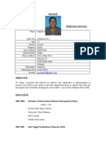 Up Dated Resume