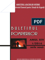 Buletin Pompieri 1-2016
