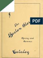 (1903) The Boston Store Catalogue