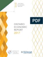 Ontario Economic Report 2017