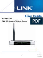 TL-WR543G User Guide