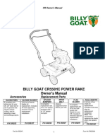 Billy Goat CR550HC